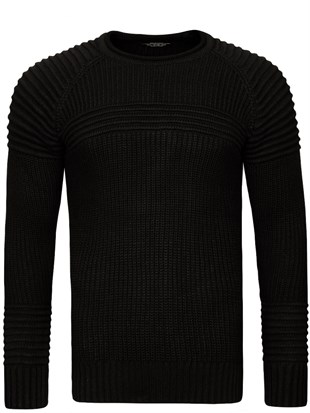 Madmext Black Jumper 1561