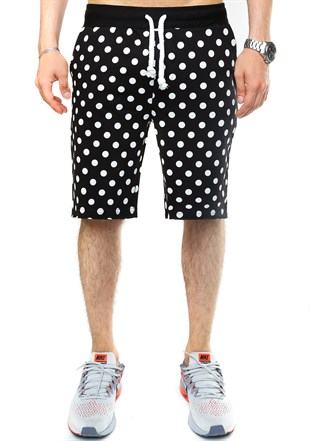 Madmext Men Daily Black Shorts 2433