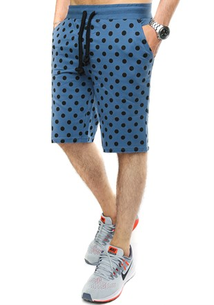 Madmext Men Daily Blue Shorts 2433
