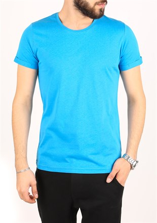 Madmext Blue T-Shirt 2450