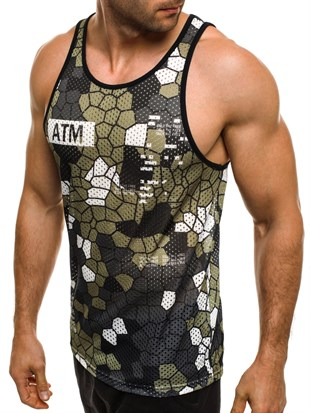 Madmext Digital Print Tank Top