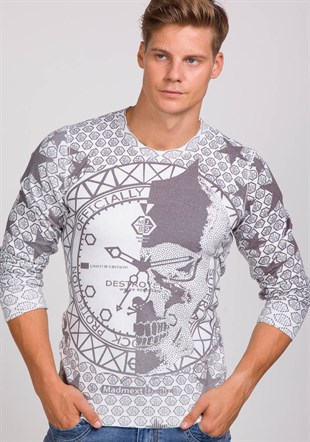 Madmext Digital Sweatshirt 1645