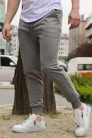 Mens Sweatpants In Grey Color Altı 2903