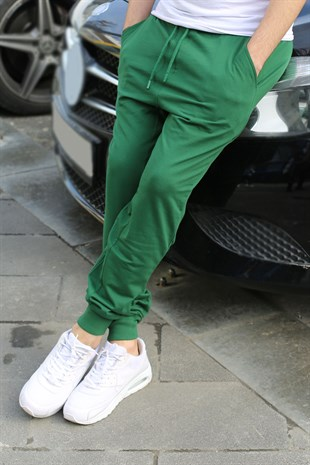 Mens Sweatpants In Green Color 2903