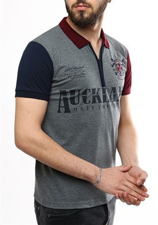 Madmext Smoked Polo Shirt 2562