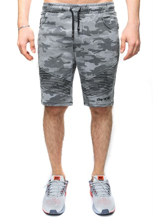 Madmext Smoked Camouflage Shorts