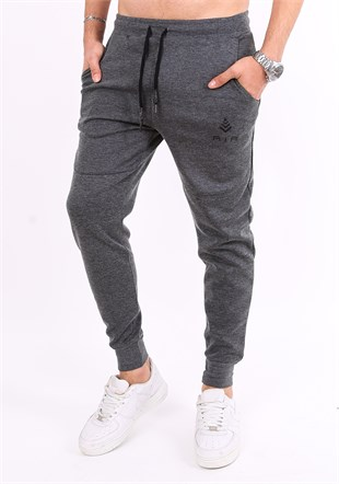 Madmext Casual Grey Joggers 2086