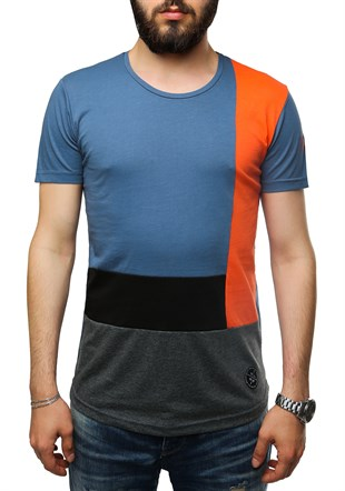 Madmext Color Block T-Shirt 2597