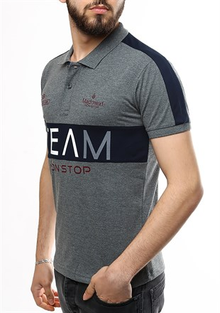 Madmext Smoked Polo Shirt 2359