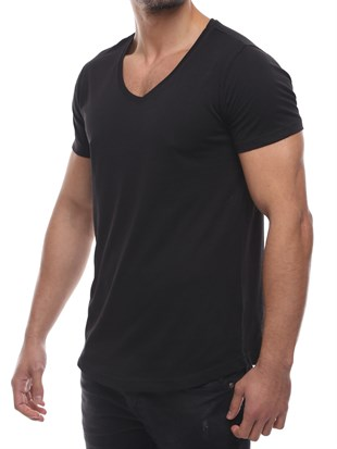 Madmext  Basic BlackT-shirt 2458