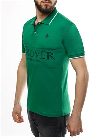 Madmext Green Polo Shirt 1874
