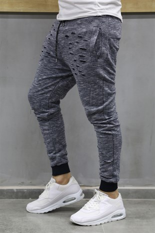 Madmext Skinniy Neavy Blue Jogger 1612