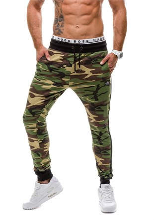 Madmext Jogger In Camo