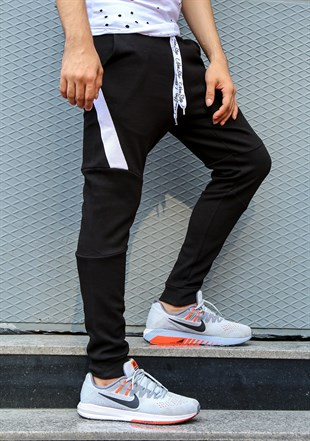 Mens Sweatpant In Black Color 2711