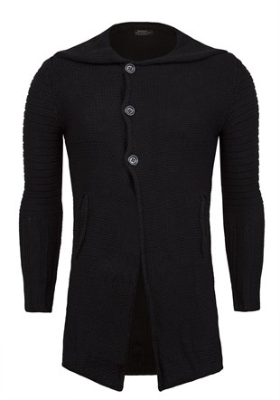 Madmext Longline Hooded Cardigan 1719