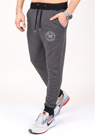 Mens Sweatpant In Smoked Color 1136
