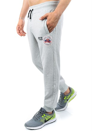 Madmext Casual Grey Jogger 1131