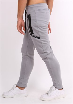Madmext Casual Dark Grey Jogger 2078