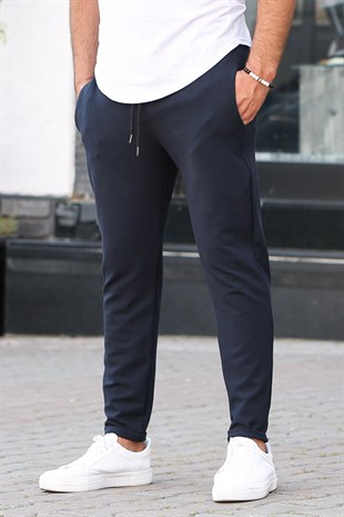 Mens Sweatpants In Dark Blue 2924