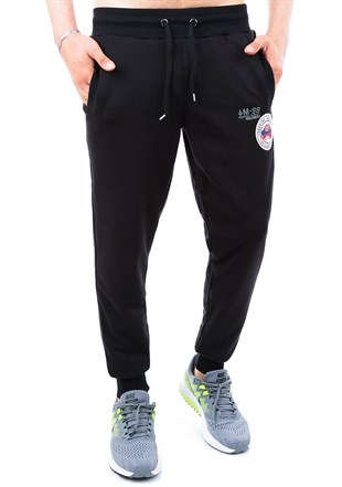 Madmext Casual Black Jogger 1131