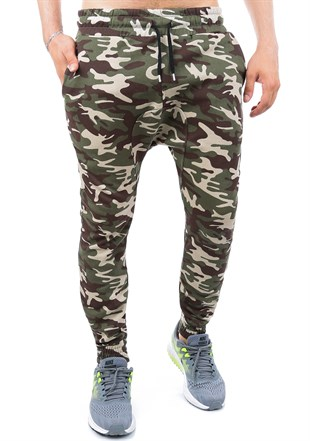 Madmext Camouflage Casual Jogger 1134