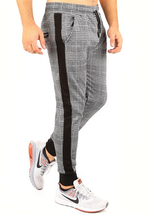Mens Sweatpant In Plain Design Grey Color 2710